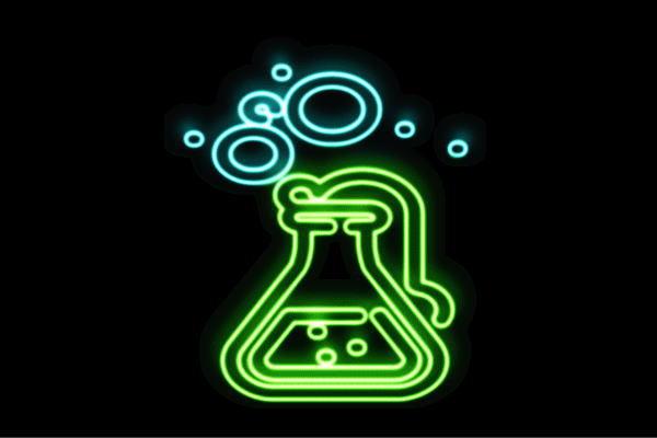 【ネオン】三角フラスコ【2】【フラスコ】【実験】【科学】【Science】【サイエンス】【理科】【実験道具】【ネオンライト】【電飾】【LED】【ライト】【サイン】【neon】【看板】【イルミネーション】【インテリア】【店舗】【ネオンサイン】【アメリカン雑貨】