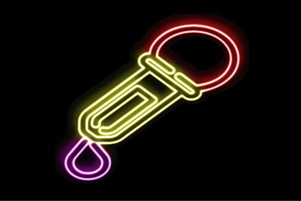 【ネオン】点滴器【スポイド】【実験】【科学】【Science】【サイエンス】【理科】【実験道具】【ネオンライト】【電飾】【LED】【ライト】【サイン】【neon】【看板】【イルミネーション】【インテリア】【店舗】【ネオンサイン】【アメリカン雑貨】
