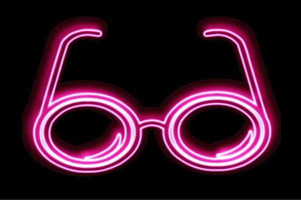 【ネオン】メガネ【4】【眼鏡】【めがね】【だてメガネ】【サングラス】【ネオンライト】【電飾】【LED】【ライト】【サイン】【neon】【看板】【イルミネーション】【インテリア】【店舗】【ネオンサイン】【アメリカン雑貨】【おしゃれ】【かわいい】