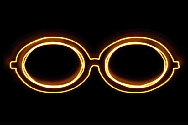 【ネオン】メガネ【6】【眼鏡】【めがね】【だてメガネ】【サングラス】【ネオンライト】【電飾】【LED】【ライト】【サイン】【neon】【看板】【イルミネーション】【インテリア】【店舗】【ネオンサイン】【アメリカン雑貨】【おしゃれ】【かわいい】