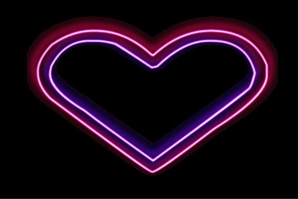 【ネオン】ハート【4】【はーと】【ハートマーク】【heart】【アイコン】【イラスト】【ネオンライト】【電飾】【LED】【ライト】【サイン】【neon】【看板】【イルミネーション】【インテリア】【店舗】【ネオンサイン】【アメリカン雑貨】【おしゃれ】【かわいい】