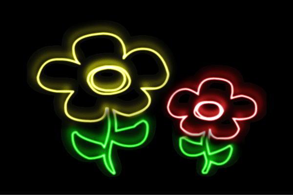 【ネオン】フラワー【5】【ふらわー】【花】【はな】【ハナ】【FLOWER】【お花】【ネオンライト】【電飾】【LED】【ライト】【サイン】【neon】【看板】【イルミネーション】【インテリア】【店舗】【ネオンサイン】【アメリカン雑貨】【かわいい】【おしゃれ】