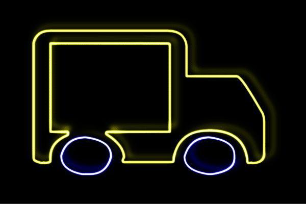 【ネオン】トラック【3】【TRACK】【車】【くるま】【クルマ】【カー】【乗り物】【イラスト】【ネオンライト】【電飾】【LED】【ライト】【サイン】【neon】【看板】【イルミネーション】【インテリア】【店舗】【ネオンサイン】【アメリカン雑貨】【かわいい】