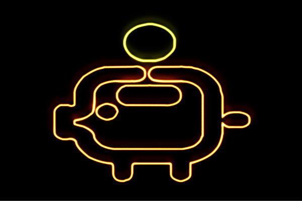 【ネオン】豚の貯金箱【2】【豚】【ぶた】【貯金箱】【貯金】【バンク】【動物】【アニマル】【アイコン】【ネオンライト】【電飾】【LED】【ライト】【サイン】【neon】【看板】【イルミネーション】【インテリア】【店舗】【ネオンサイン】【アメリカン雑貨】