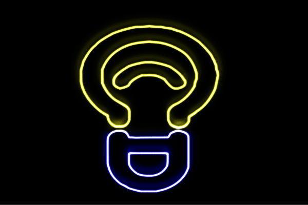 【ネオン】電球【2】【でんきゅう】【ライト】【らいと】【イラスト】【アイコン】【マーク】【ネオンライト】【電飾】【LED】【ライト】【サイン】【neon】【看板】【イルミネーション】【インテリア】【店舗】【ネオンサイン】【アメリカン雑貨】【かわいい】