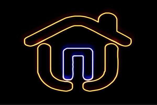 【ネオン】家【3】【いえ】【HOUSE】【ハウス】【イラスト】【建物】【アイコン】【ネオンライト】【電飾】【LED】【ライト】【サイン】【neon】【看板】【イルミネーション】【インテリア】【店舗】【ネオンサイン】【アメリカン雑貨】【おしゃれ】【かわいい】