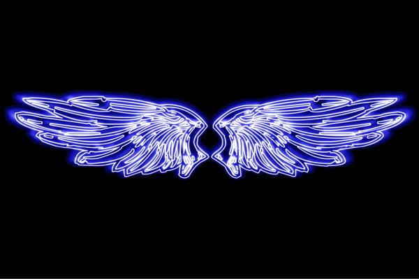 【ネオン】ウイング【羽】【翼】【はね】【つばさ】【WING】【フェザー】【天使】【ネオンライト】【電飾】【LED】【ライト】【サイン】【neon】【看板】【イルミネーション】【インテリア】【店舗】【ネオンサイン】【アメリカン雑貨】【おしゃれ】