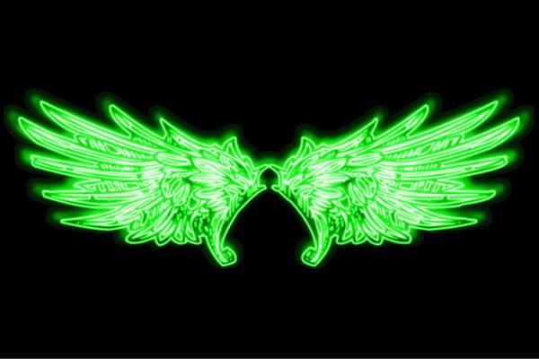 【ネオン】ウイング【24】【羽】【翼】【はね】【つばさ】【WING】【フェザー】【天使】【ネオンライト】【電飾】【LED】【ライト】【サイン】【neon】【看板】【イルミネーション】【インテリア】【店舗】【ネオンサイン】【アメリカン雑貨】【おしゃれ】