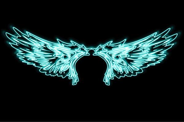 【ネオン】ウイング【29】【羽】【翼】【はね】【つばさ】【WING】【フェザー】【天使】【ネオンライト】【電飾】【LED】【ライト】【サイン】【neon】【看板】【イルミネーション】【インテリア】【店舗】【ネオンサイン】【アメリカン雑貨】【おしゃれ】