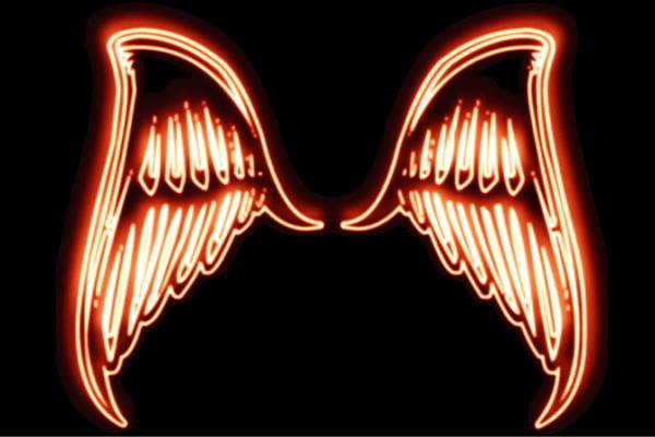 【ネオン】ウイング【31】【羽】【翼】【はね】【つばさ】【WING】【フェザー】【天使】【ネオンライト】【電飾】【LED】【ライト】【サイン】【neon】【看板】【イルミネーション】【インテリア】【店舗】【ネオンサイン】【アメリカン雑貨】【おしゃれ】:AOIデパート