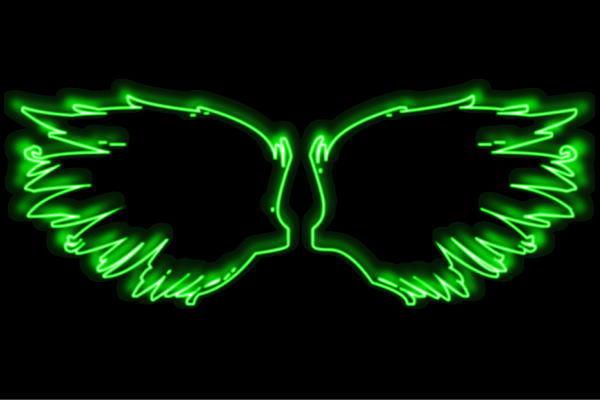 【ネオン】ウイング【34】【羽】【翼】【はね】【つばさ】【WING】【フェザー】【天使】【ネオンライト】【電飾】【LED】【ライト】【サイン】【neon】【看板】【イルミネーション】【インテリア】【店舗】【ネオンサイン】【アメリカン雑貨】【おしゃれ】