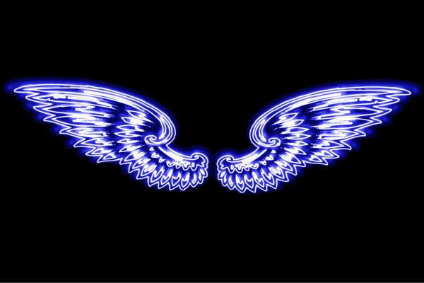 【ネオン】ウイング【52】【羽】【翼】【はね】【つばさ】【WING】【フェザー】【天使】【ネオンライト】【電飾】【LED】【ライト】【サイン】【neon】【看板】【イルミネーション】【インテリア】【店舗】【ネオンサイン】【アメリカン雑貨】【おしゃれ】