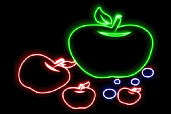 【ネオン】りんご【11】【APPLE】【リンゴ】【林檎】【アップル】【果物】【フルーツ】【くだもの】【BAR】【バー】【ネオンライト】【電飾】【LED】【ライト】【サイン】【neon】【看板】【イルミネーション】【インテリア】【店舗】【ネオンサイン】【アメリカン雑貨】