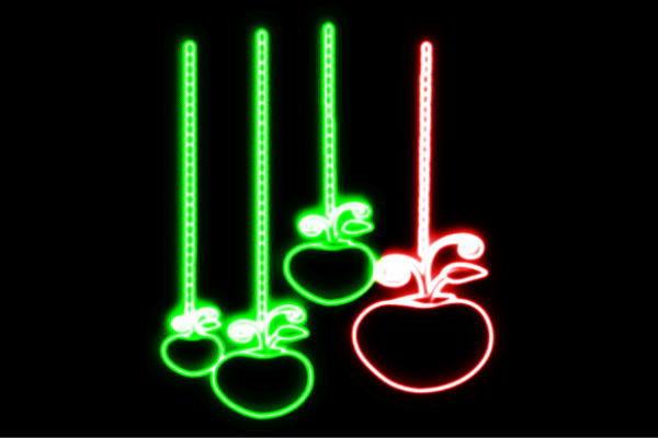 【ネオン】りんご【12】【APPLE】【リンゴ】【林檎】【アップル】【果物】【フルーツ】【くだもの】【BAR】【バー】【ネオンライト】【電飾】【LED】【ライト】【サイン】【neon】【看板】【イルミネーション】【インテリア】【店舗】【ネオンサイン】【アメリカン雑貨】