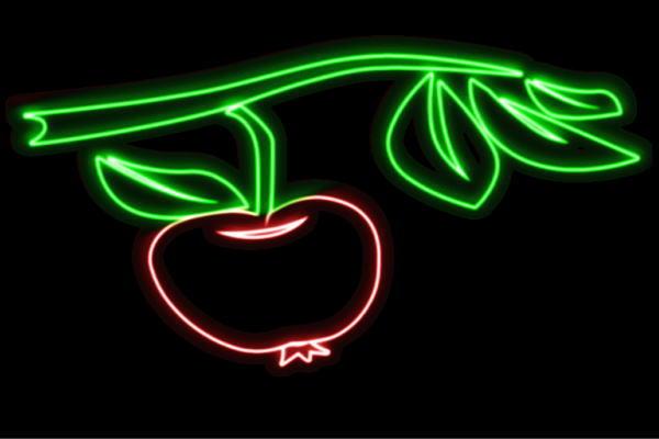 【ネオン】りんご【15】【APPLE】【リンゴ】【林檎】【アップル】【果物】【フルーツ】【くだもの】【BAR】【バー】【ネオンライト】【電飾】【LED】【ライト】【サイン】【neon】【看板】【イルミネーション】【インテリア】【店舗】【ネオンサイン】【アメリカン雑貨】