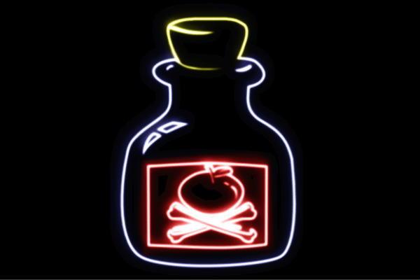 【ネオン】りんご海賊旗と瓶【APPLE】【リンゴ】【林檎】【アップル】【果物】【フルーツ】【くだもの】【海賊旗】【海賊】【装飾】【ネオンライト】【電飾】【LED】【ライト】【サイン】【neon】【看板】【イルミネーション】【インテリア】【店舗】【ネオンサイン】