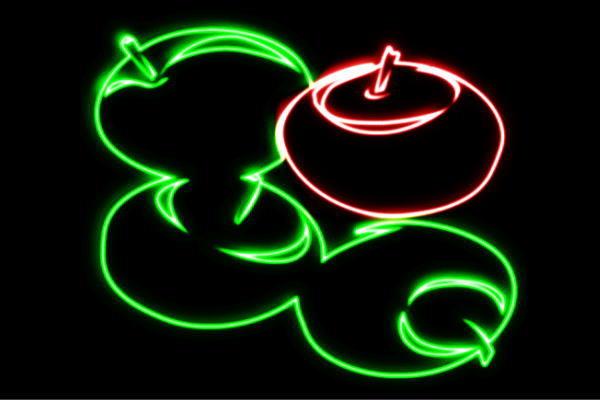 【ネオン】りんご【20】【APPLE】【リンゴ】【林檎】【アップル】【果物】【フルーツ】【くだもの】【BAR】【バー】【ネオンライト】【電飾】【LED】【ライト】【サイン】【neon】【看板】【イルミネーション】【インテリア】【店舗】【ネオンサイン】【アメリカン雑貨】