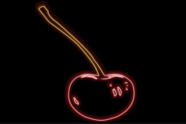【ネオン】さくらんぼ【サクランボ】【チェリー】【果物】【フルーツ】【くだもの】【リアル】【BAR】【バー】【ネオンライト】【電飾】【LED】【ライト】【サイン】【neon】【看板】【イルミネーション】【インテリア】【店舗】【ネオンサイン】【アメリカン雑貨】