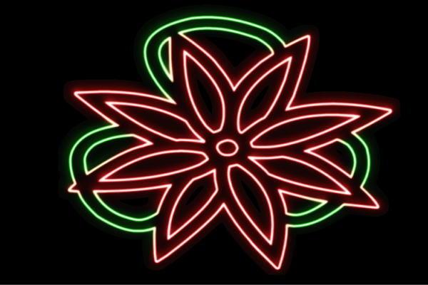 【ネオン】花【4】【家紋】【ふらわー】【フラワー】【はな】【ハナ】【FLOWER】【お花】【ネオンライト】【電飾】【LED】【ライト】【サイン】【neon】【看板】【イルミネーション】【インテリア】【店舗】【ネオンサイン】【アメリカン雑貨】【かわいい】【おしゃれ】