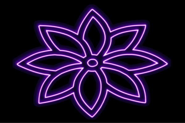 【ネオン】花【9】【家紋】【ふらわー】【フラワー】【はな】【ハナ】【FLOWER】【お花】【ネオンライト】【電飾】【LED】【ライト】【サイン】【neon】【看板】【イルミネーション】【インテリア】【店舗】【ネオンサイン】【アメリカン雑貨】【かわいい】【おしゃれ】
