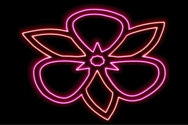 【ネオン】花【12】【ふらわー】【フラワー】【はな】【ハナ】【FLOWER】【お花】【ネオンライト】【電飾】【LED】【ライト】【サイン】【neon】【看板】【イルミネーション】【インテリア】【店舗】【ネオンサイン】【アメリカン雑貨】【かわいい】【おしゃれ】