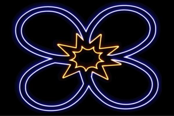 【ネオン】花【13】【ふらわー】【フラワー】【はな】【ハナ】【FLOWER】【お花】【ネオンライト】【電飾】【LED】【ライト】【サイン】【neon】【看板】【イルミネーション】【インテリア】【店舗】【ネオンサイン】【アメリカン雑貨】【かわいい】【おしゃれ】