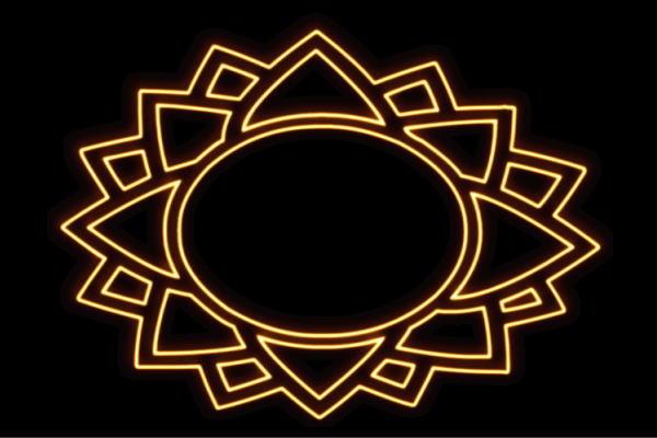 【ネオン】ひまわり【4】【ヒマワリ】【向日葵】【sunflower】【サンフラワー】【花】【はな】【お花】【イラスト】【ネオンライト】【電飾】【LED】【ライト】【サイン】【neon】【看板】【イルミネーション】【インテリア】【店舗】【ネオンサイン】【おしゃれ】