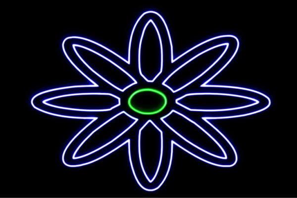 【ネオン】花【18】【ふらわー】【フラワー】【はな】【ハナ】【FLOWER】【お花】【ネオンライト】【電飾】【LED】【ライト】【サイン】【neon】【看板】【イルミネーション】【インテリア】【店舗】【ネオンサイン】【アメリカン雑貨】【かわいい】【おしゃれ】