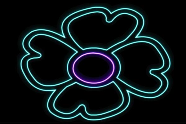 【ネオン】花【19】【ふらわー】【フラワー】【はな】【ハナ】【FLOWER】【お花】【ネオンライト】【電飾】【LED】【ライト】【サイン】【neon】【看板】【イルミネーション】【インテリア】【店舗】【ネオンサイン】【アメリカン雑貨】【かわいい】【おしゃれ】