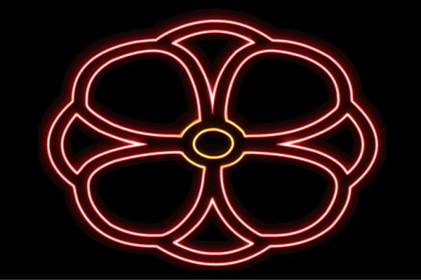 【ネオン】花【21】【ふらわー】【フラワー】【はな】【ハナ】【FLOWER】【お花】【ネオンライト】【電飾】【LED】【ライト】【サイン】【neon】【看板】【イルミネーション】【インテリア】【店舗】【ネオンサイン】【アメリカン雑貨】【かわいい】【おしゃれ】