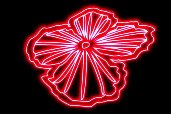 【ネオン】花【28】【ふらわー】【フラワー】【はな】【ハナ】【FLOWER】【お花】【ネオンライト】【電飾】【LED】【ライト】【サイン】【neon】【看板】【イルミネーション】【インテリア】【店舗】【ネオンサイン】【アメリカン雑貨】【かわいい】【おしゃれ】
