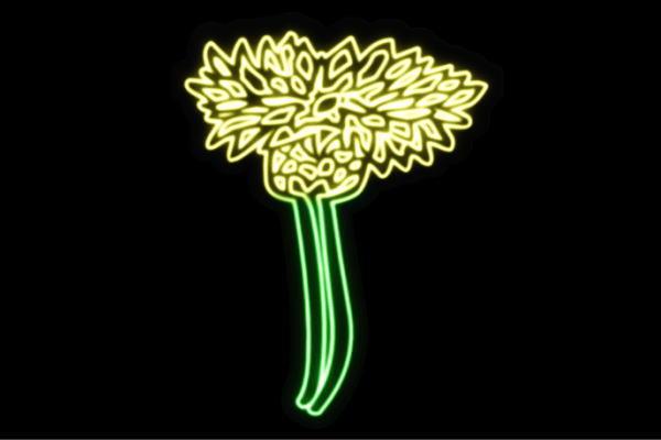 【ネオン】花【37】【ふらわー】【フラワー】【はな】【ハナ】【FLOWER】【お花】【ネオンライト】【電飾】【LED】【ライト】【サイン】【neon】【看板】【イルミネーション】【インテリア】【店舗】【ネオンサイン】【アメリカン雑貨】【かわいい】【おしゃれ】