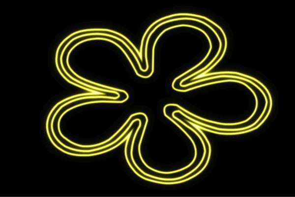 【ネオン】フラワー【7】【ふらわー】【花】【はな】【ハナ】【FLOWER】【お花】【ネオンライト】【電飾】【LED】【ライト】【サイン】【neon】【看板】【イルミネーション】【インテリア】【店舗】【ネオンサイン】【アメリカン雑貨】【かわいい】【おしゃれ】
