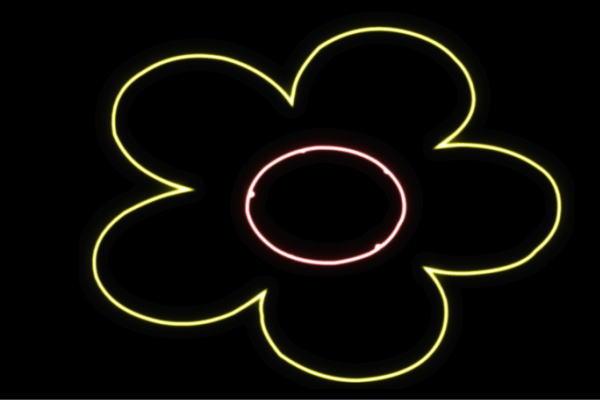 【ネオン】フラワー【8】【ふらわー】【花】【はな】【ハナ】【FLOWER】【お花】【ネオンライト】【電飾】【LED】【ライト】【サイン】【neon】【看板】【イルミネーション】【インテリア】【店舗】【ネオンサイン】【アメリカン雑貨】【かわいい】【おしゃれ】