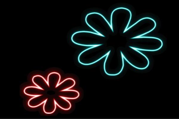 【ネオン】フラワー【20】【ふらわー】【花】【はな】【ハナ】【FLOWER】【お花】【ネオンライト】【電飾】【LED】【ライト】【サイン】【neon】【看板】【イルミネーション】【インテリア】【店舗】【ネオンサイン】【アメリカン雑貨】【かわいい】【おしゃれ】