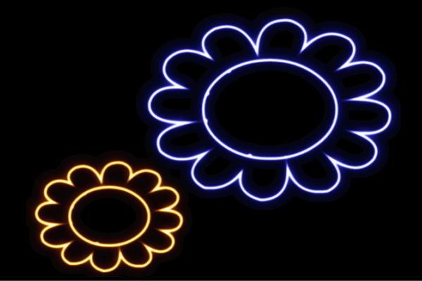 【ネオン】フラワー【21】【ふらわー】【花】【はな】【ハナ】【FLOWER】【お花】【ネオンライト】【電飾】【LED】【ライト】【サイン】【neon】【看板】【イルミネーション】【インテリア】【店舗】【ネオンサイン】【アメリカン雑貨】【かわいい】【おしゃれ】