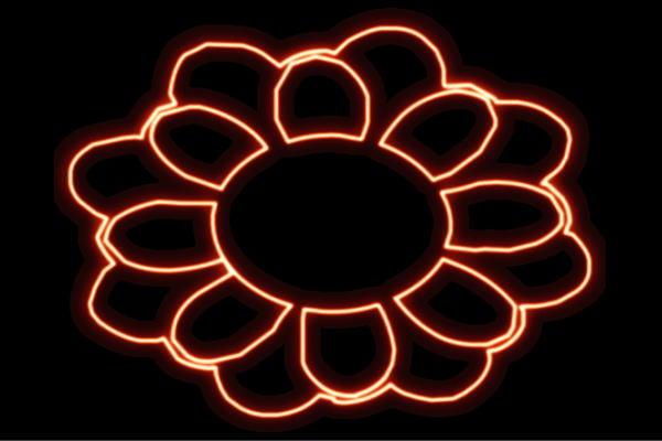 【ネオン】フラワー【32】【ふらわー】【花】【はな】【ハナ】【FLOWER】【お花】【ネオンライト】【電飾】【LED】【ライト】【サイン】【neon】【看板】【イルミネーション】【インテリア】【店舗】【ネオンサイン】【アメリカン雑貨】【かわいい】【おしゃれ】