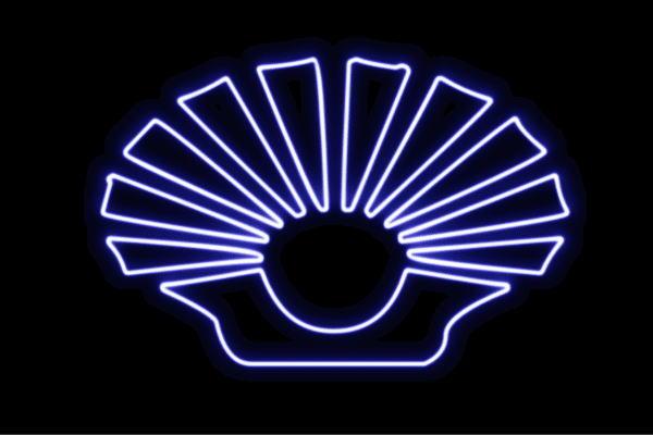 【ネオン】貝【2】【かい】【真珠】【カイ】【シェル】【貝殻】【動物】【アニマル】【夏】【サマー】【ネオンライト】【電飾】【LED】【ライト】【サイン】【neon】【看板】【イルミネーション】【インテリア】【店舗】【ネオンサイン】【アメリカン雑貨】
