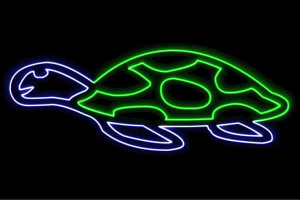 【ネオン】カメ【亀】【かめ】【ウミガメ】【海亀】【動物】【アニマル】【夏】【サマー】【ネオンライト】【電飾】【LED】【ライト】【サイン】【neon】【看板】【イルミネーション】【インテリア】【店舗】【ネオンサイン】【アメリカン雑貨】【おしゃれ】