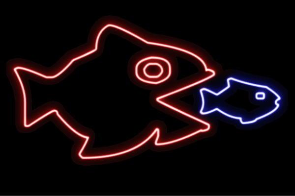【ネオン】お魚【25】【魚】【フィッシュ】【さかな】【サカナ】【FISH】【海】【うみ】【ネオンライト】【電飾】【LED】【ライト】【サイン】【neon】【看板】【イルミネーション】【インテリア】【店舗】【ネオンサイン】【アメリカン雑貨】【かわいい】【おしゃれ】