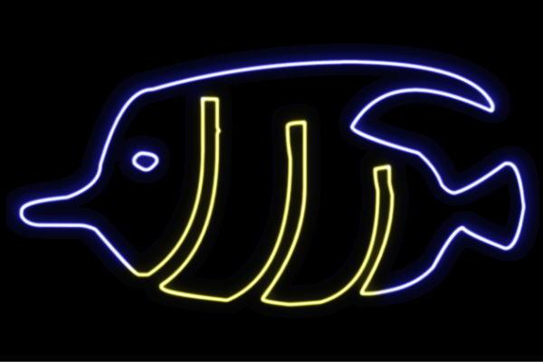 【ネオン】お魚【28】【魚】【フィッシュ】【さかな】【サカナ】【FISH】【海】【うみ】【ネオンライト】【電飾】【LED】【ライト】【サイン】【neon】【看板】【イルミネーション】【インテリア】【店舗】【ネオンサイン】【アメリカン雑貨】【かわいい】【おしゃれ】