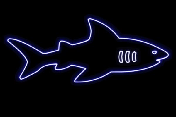 【ネオン】シャーク【4】【さめ】【鮫】【サメ】【人食いサメ】【海】【動物】【アニマル】【ネオンライト】【電飾】【LED】【ライト】【サイン】【neon】【看板】【イルミネーション】【インテリア】【店舗】【ネオンサイン】【アメリカン雑貨】【かわいい】【おしゃれ】