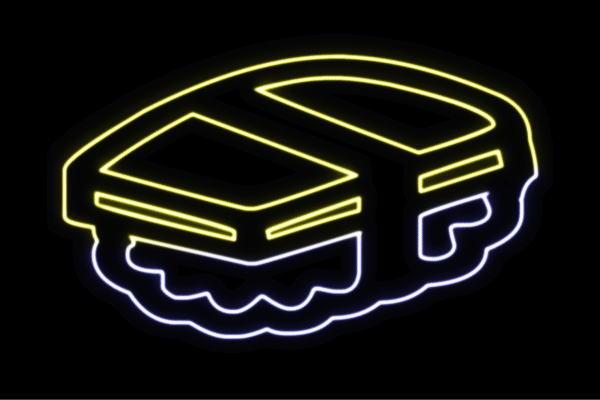 【ネオン】たまご【タマゴ】【玉子】【お寿司】【寿司】【おすし】【すし】【鮨】【スシ】【握り】【ネオンライト】【電飾】【LED】【ライト】【サイン】【neon】【看板】【イルミネーション】【インテリア】【店舗】【ネオンサイン】【アメリカン雑貨】【かわいい】