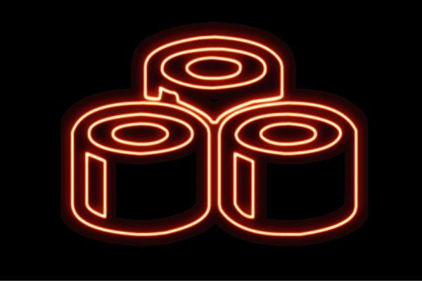 【ネオン】お寿司【8】【寿司】【おすし】【すし】【鮨】【スシ】【軍艦巻き】【軍艦】【巻物】【ネオンライト】【電飾】【LED】【ライト】【サイン】【neon】【看板】【イルミネーション】【インテリア】【店舗】【ネオンサイン】【アメリカン雑貨】