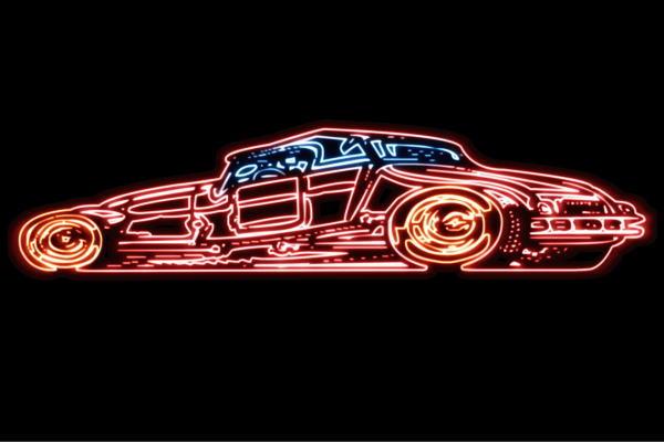 【ネオン】車【9】【くるま】【クルマ】【カー】【CAR】【自動車】【ディーラー】【カスタム】【ネオンライト】【電飾】【LED】【ライト】【サイン】【neon】【看板】【イルミネーション】【インテリア】【店舗】【ネオンサイン】【アメリカン雑貨】【かっこいい】