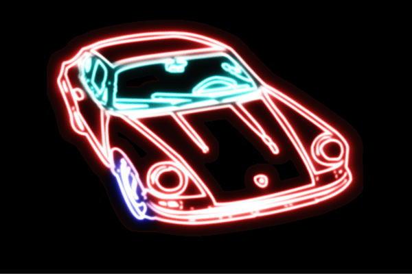 【ネオン】車【43】【くるま】【クルマ】【カー】【CAR】【自動車】【ディーラー】【アメ車】【外車】【ネオンライト】【電飾】【LED】【ライト】【サイン】【neon】【看板】【イルミネーション】【インテリア】【店舗】【ネオンサイン】【アメリカン雑貨】