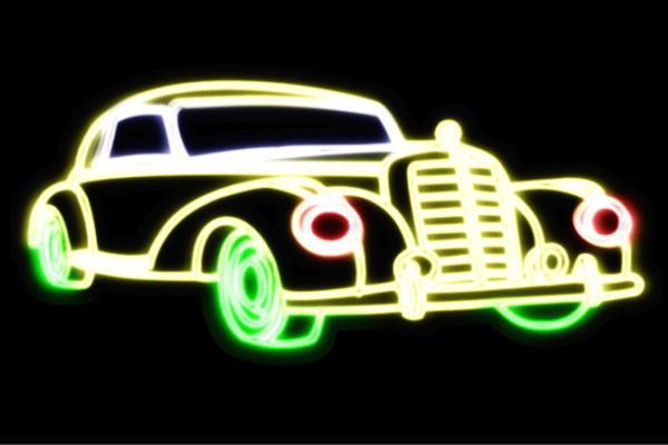 【ネオン】車【48】【くるま】【クルマ】【カー】【CAR】【自動車】【ディーラー】【アメ車】【外車】【ネオンライト】【電飾】【LED】【ライト】【サイン】【neon】【看板】【イルミネーション】【インテリア】【店舗】【ネオンサイン】【アメリカン雑貨】