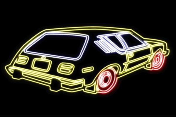 【ネオン】車【56】【くるま】【クルマ】【カー】【CAR】【自動車】【ディーラー】【旧車】【アメ車】【外車】【ネオンライト】【電飾】【LED】【ライト】【サイン】【neon】【看板】【イルミネーション】【インテリア】【店舗】【ネオンサイン】【アメリカン雑貨】
