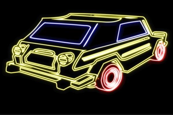 【ネオン】車【59】【くるま】【クルマ】【カー】【CAR】【自動車】【ディーラー】【旧車】【アメ車】【外車】【ネオンライト】【電飾】【LED】【ライト】【サイン】【neon】【看板】【イルミネーション】【インテリア】【店舗】【ネオンサイン】【アメリカン雑貨】