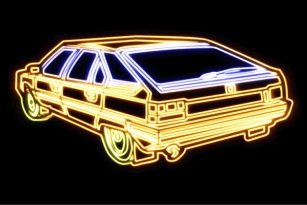 【ネオン】車【63】【くるま】【クルマ】【カー】【CAR】【自動車】【ディーラー】【旧車】【アメ車】【外車】【ネオンライト】【電飾】【LED】【ライト】【サイン】【neon】【看板】【イルミネーション】【インテリア】【店舗】【ネオンサイン】【アメリカン雑貨】
